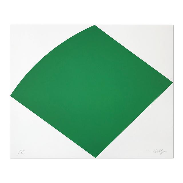 Ellsworth Kelly, 'Green Curve', 1996, MLTPL