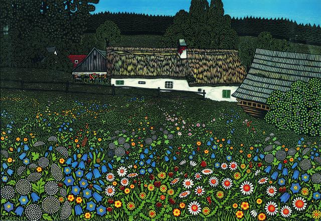 , 'A Farm in the Waldviertel,' ca. 1915, Galerie Kovacek & Zetter