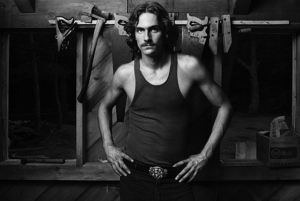 """Norman Seeff, 'James Taylor, """"James with Tools""""', 1969, Fahey/Klein Gallery"""
