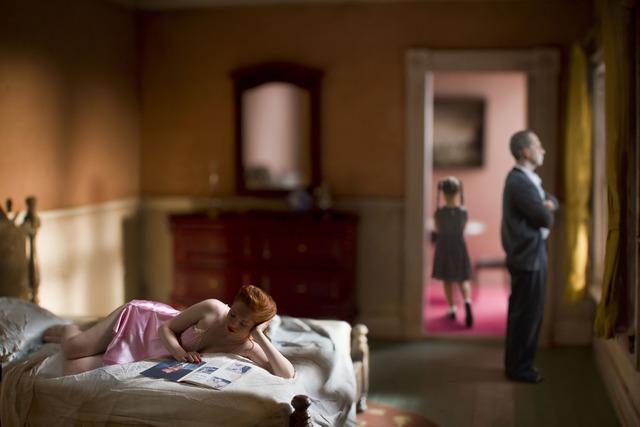 Richard Tuschman, 'Pink Bedroom (Family)', 2013, photo-eye Gallery