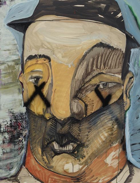 , 'Self-portrait - wearing hat,' 2016, Mind Set Art Center