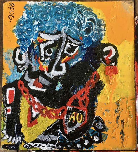 Bashar Shammas AKA RFUG, 'Gold Slave', 2019, Maison Depoivre