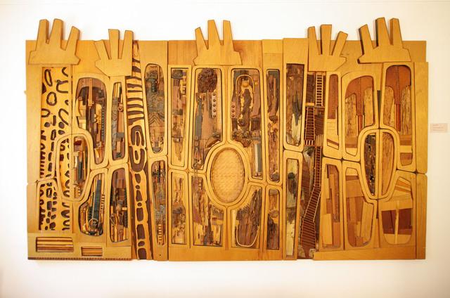 , 'Black, Brown and Beige (After Duke Ellington),' 1989, Los Angeles County Museum of Art
