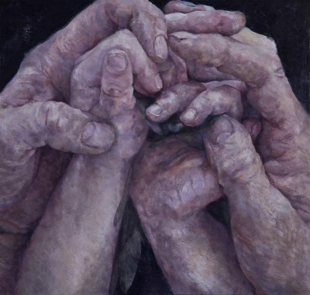 , 'Passage, Hands,' 2014, Flowers