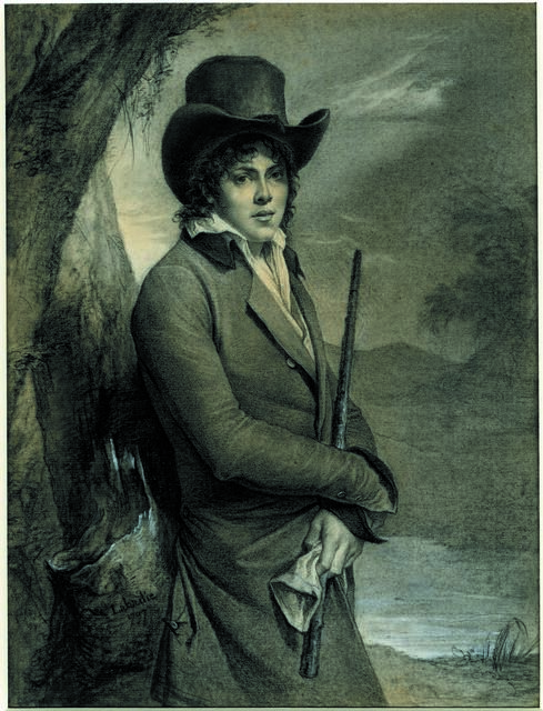 , 'Portrait of a young man ,' 1797, British Museum