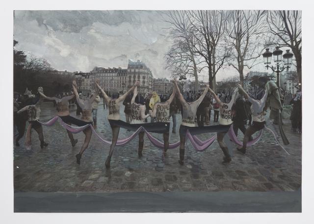 , 'Subversive Salami in a Ragged Briefcase,' 2013-2014, Callicoon Fine Arts