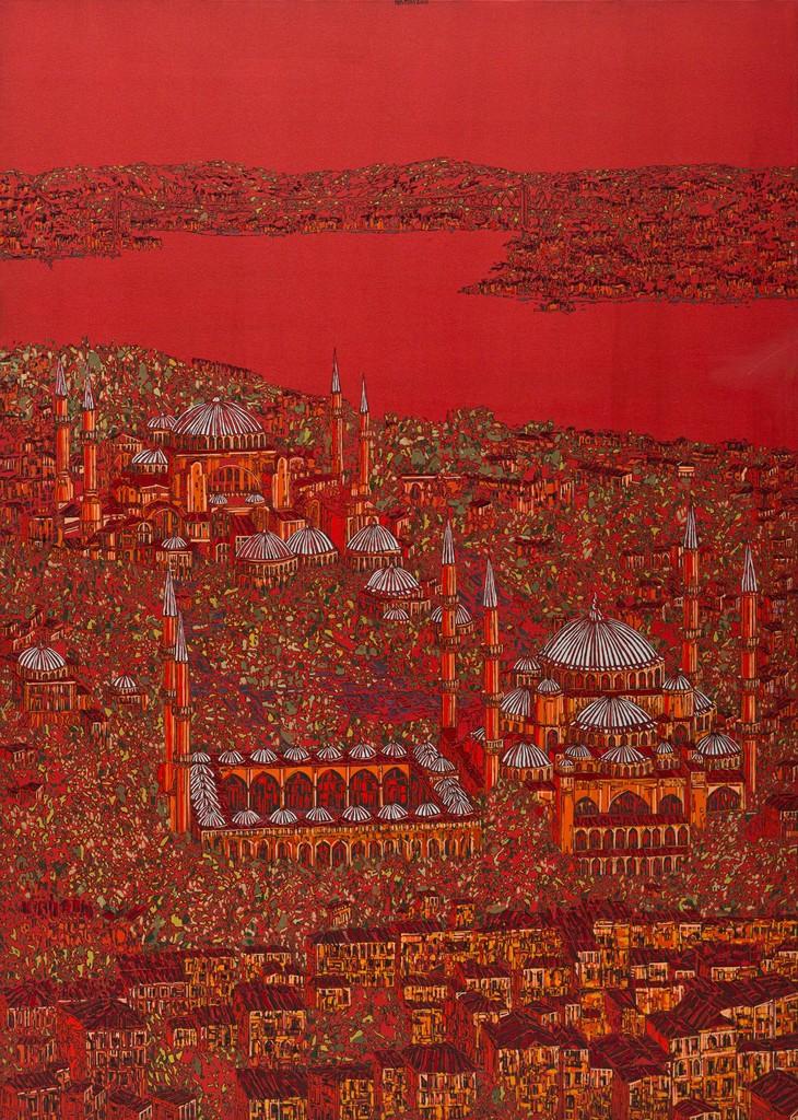Devrim Erbil, 'Istanbul Red 6,' 2013, Olcay Art