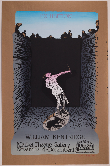 , 'Exhibition William Kentridge (Pit Monotypes),' 1979, Sylvan Cole Gallery