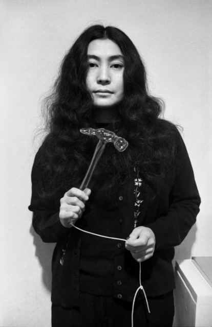 , 'Yoko Ono (with glass hammer),' 1967, England & Co