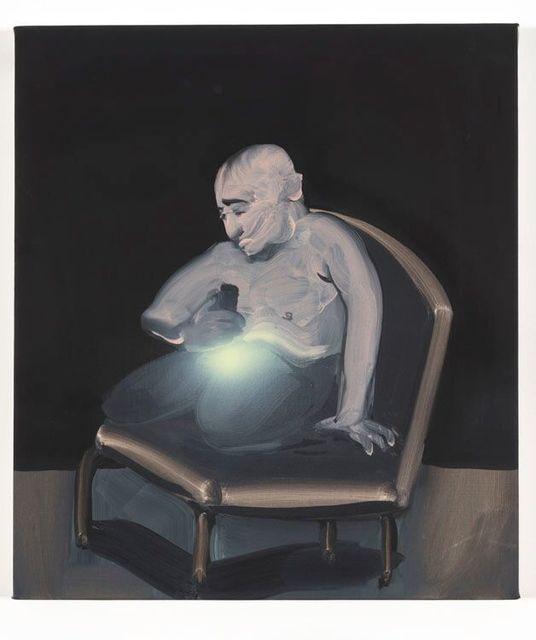 Tala Madani, 'Searchlight', 2013, Painting, Oil on linen, John Wolf Art Advisory & Brokerage