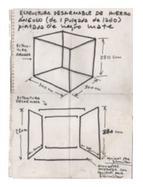 , 'Plano de Prisma de aire (Materialización de las coordenadas espaciales de un prisma deaire),' 1967, Henrique Faria Fine Art