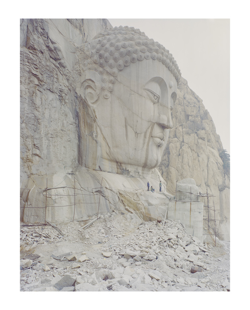 , 'A Buddha Head in the mountain 2, Hebei,' 2015, La Galerie Paris 1839