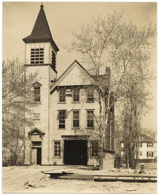 , 'Fire Engine House #52.  Spuyten Duyvil.,' 1937, The Old Print Shop, Inc.