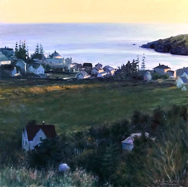Richard Rosenblatt, 'Village By The Sea', 2019, The Galleries at Salmagundi
