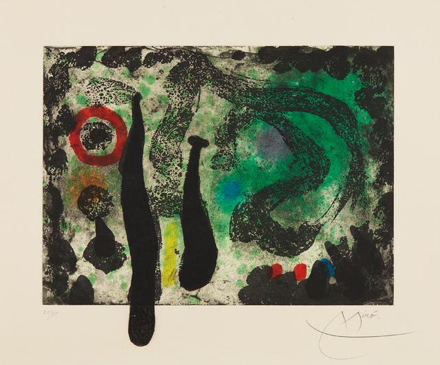 Joan Miró, 'Le Jardin de mousse (The Moss Garden)', 1968, Phillips