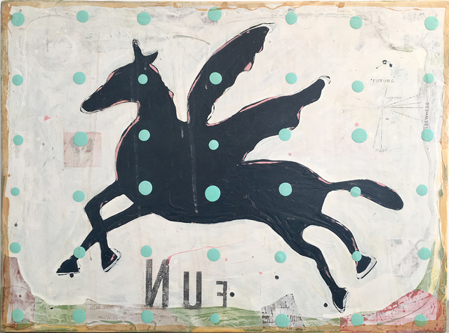 , 'Whip the Donkey,' 2016, Sue Greenwood Fine Art