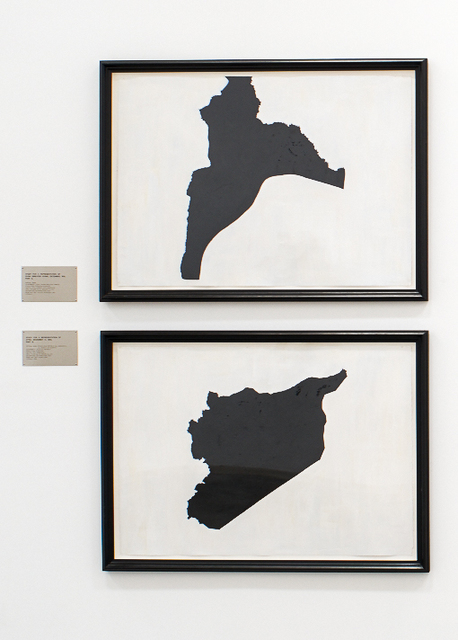 , 'Study For A Representation of Syria,' 1989-1990, Rosamund Felsen Gallery