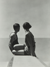 Hoyningen-Huene, 'Divers, Horst with Model, Paris,' 1930, Phillips: Photographs (April 2017)