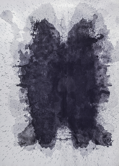 , 'Inkz Blot 2,' 2015, LMAKgallery