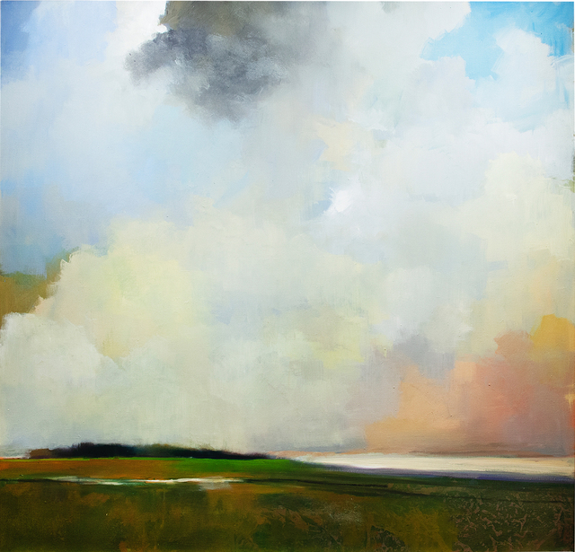 Thomas Sgouros Estate, 'Remembered Landscape (Summer)', c. 2009, Painting, Oil on linen, Cade Tompkins Projects