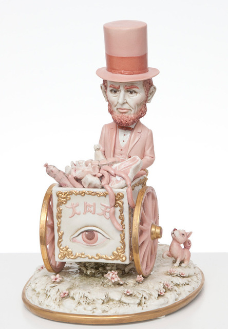 , 'Pink Lincoln Meat Cart,' 2013, Kohn Gallery