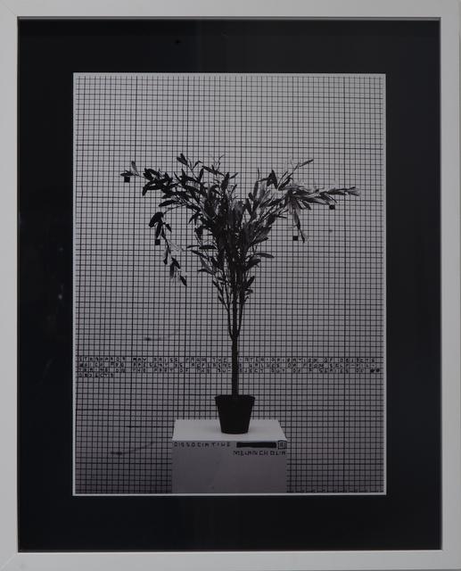 , 'A.B.: Task Dependance A1,' 2013, Galerie Krinzinger