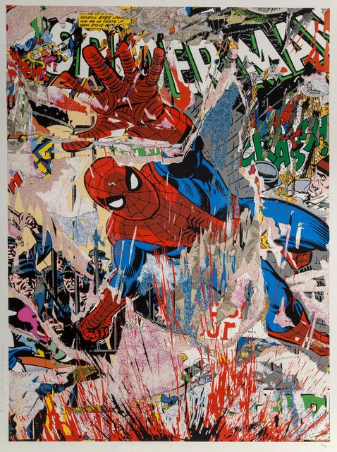 Mr. Brainwash, 'Spider-Man (First Edition)', 2019, Heritage Auctions