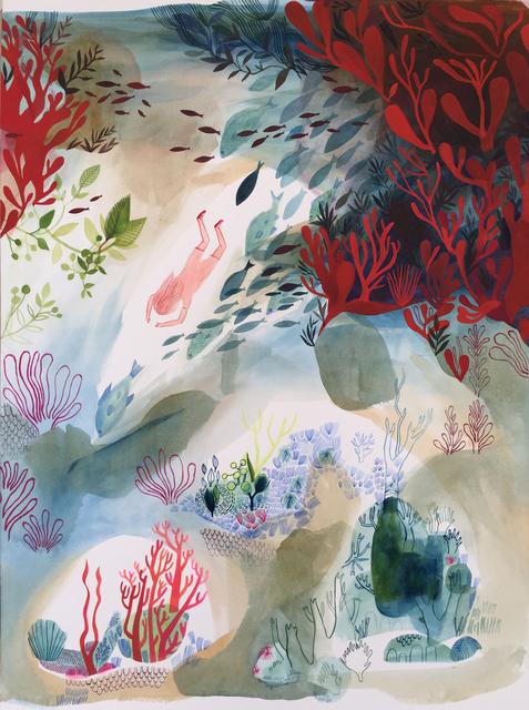 , 'The Diver ,' 2017, Rebecca Hossack Art Gallery