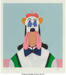 Droopy Dog Abstraction