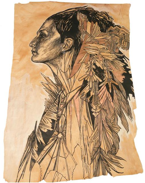 Swoon, 'Ice Queen ', 2012, Taglialatella Galleries