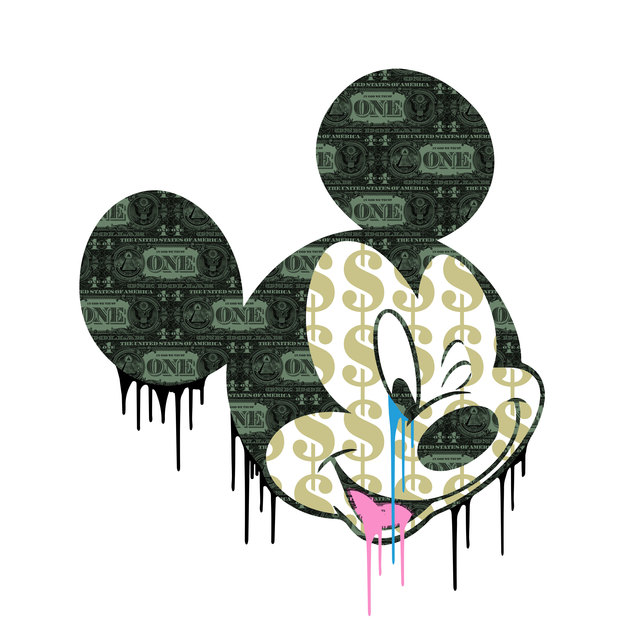 , 'Propaganda Mickey (diamond dust),' , The Drang Gallery
