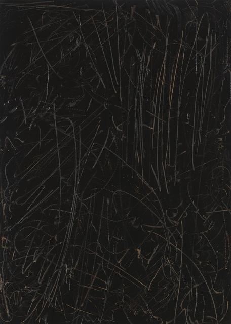 , 'Schwarzes Bild Nr. 23,' 1990, Schacky Art & Advisory