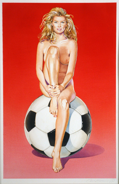 , 'Fussball Fannie,' 1997, Louis K. Meisel Gallery