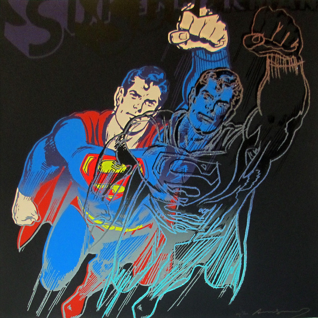 Andy Warhol, 'Superman, II.260 (from Myths)', 1981, IFAC Arts