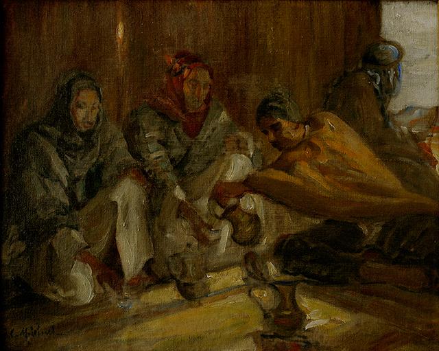 , 'Les bédouins sous la tente,' , Artscoops