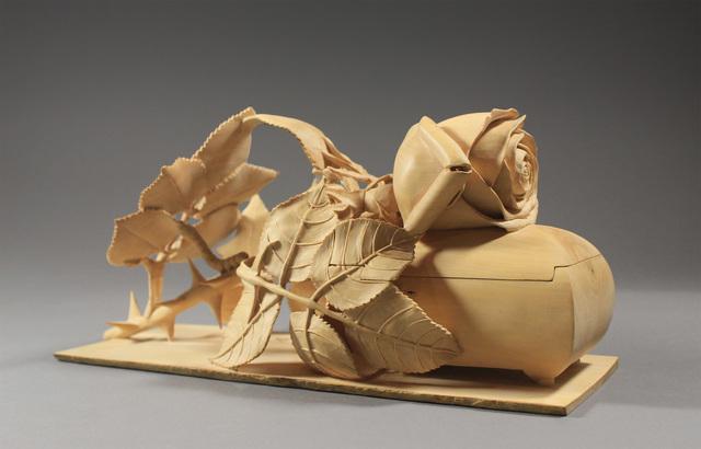 , 'Rose Jewelry Box,' 2010, Wood Symphony Gallery