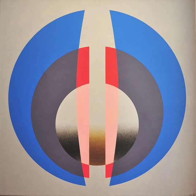 , 'Double Transparency B,' 1976, Peyton Wright Gallery