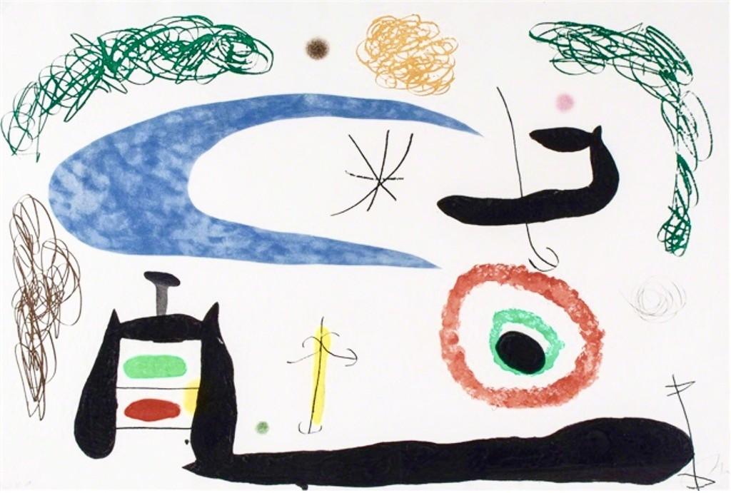 Joan Miró, 'Dormir sous la Lune', 1969, BOCCARA ART