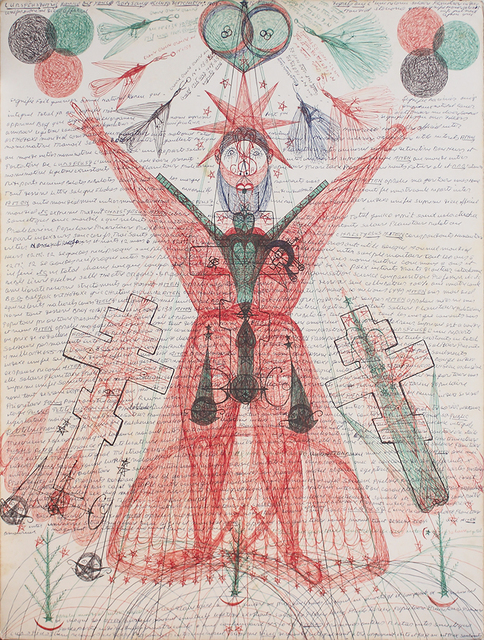 , 'untitled,' 1975, christian berst art brut