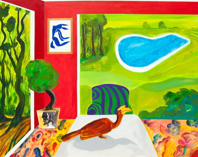 , 'Musing with Matisse,' 2016, Ode to Art