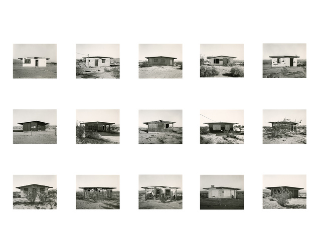 Mark Ruwedel, 'Wonder Valley Survey', 2013/2014, Photography, Fifteen Gelatin Silver Prints Mounted on Individual Archival Rag Boards, Yossi Milo Gallery