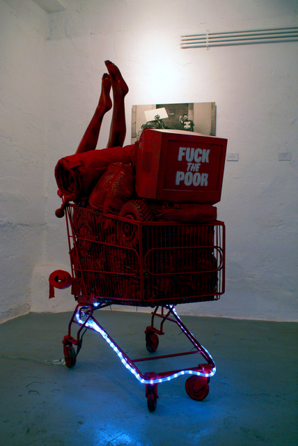 , 'Add Elegance to Your Poverty,' 2016, Hans & Fritz Contemporary