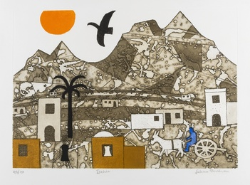 Julian Trevelyan, 'Ischia (Turner 352),' 1979, Forum Auctions: Editions and Works on Paper (March 2017)