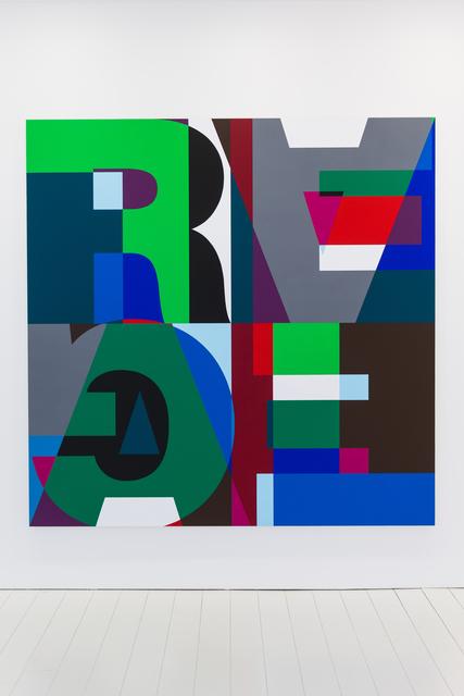 Heimo Zobernig, 'Untitled (HZ 2016-116)', 2016, Patrick De Brock Gallery