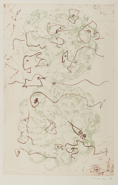 , 'Plate from Les Chiens Ont Soif,' 1964, Childs Gallery