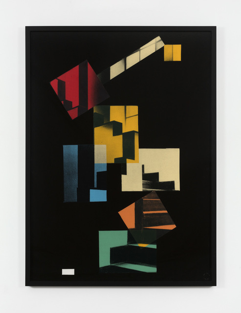 , 'Cafe Aubette,' 1982, Paula Cooper Gallery