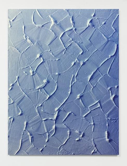 , 'Untitled (Trowel/Blue/Wall),' 2016, Nathalie Karg Gallery