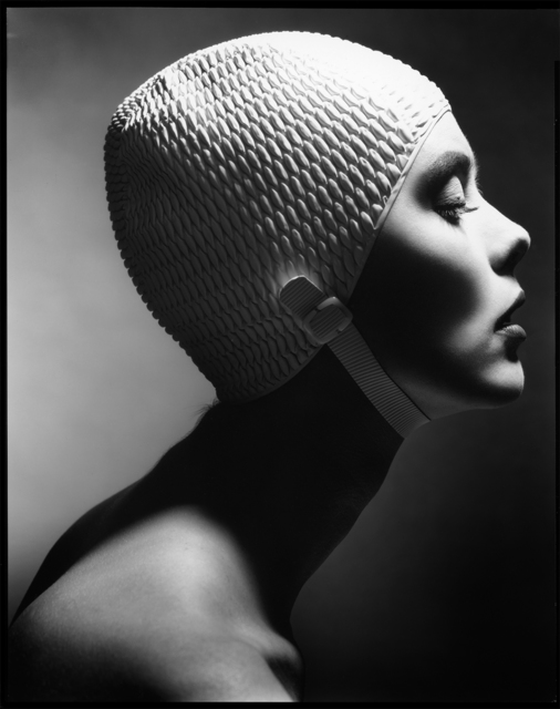 , 'Swimming Cap Profile, New York,' 1991, Staley-Wise Gallery