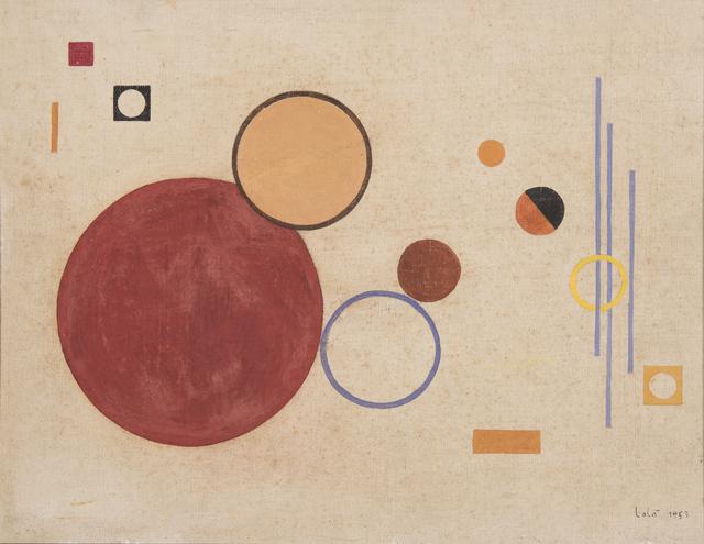 , 'Untitled,' 1953, Galería de las Misiones