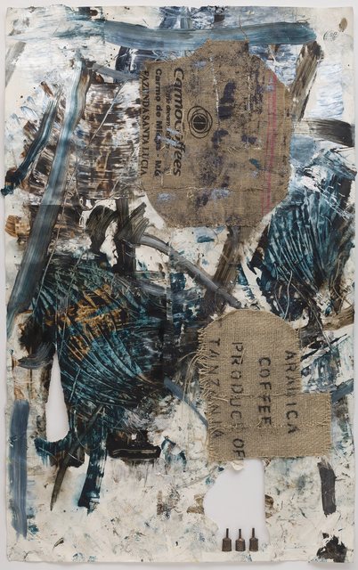 , 'Burlap Perfume,' 2014, Anthony Meier Fine Arts